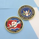 Challenge Coin Donald Trump Airforce One 1 Dmz Korea DPRK