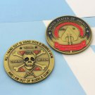 Challenge Coin Clandestine Black OPS Services CIA