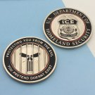 Challenge Coin Ice Donald Trump Immigration Customs The Punisher