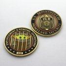 Federal Law Police Ice Challenge Coin Trump Baby Yoda