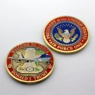 Challenge Coin Trump Donald Air Force One INDIA
