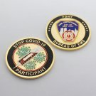 FDNY Challenge Coin Frontline Hero EMS FIRE PANDIMIC Virus Vaccine PARTICIPANT