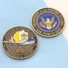 Challenge Coin AIR FORCE ONE DONALD TRUMP VATICAN CITY