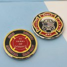 Challenge Coin Shell Oil Company Houston Texas Fire Ert Rescue Fighting Deptment