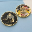 Challenge Coin Maryland Police Criminal Investigator Division Robbery Unit