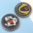 Challenge Coin 1st Airlift Squadron Sam Fox Air Force One 89th Airlift Wing