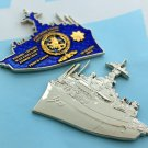 Challenge Coin Navy Ship USS Ponce