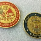 Military Police Challenge Coin U.S. Marine Corps Corrections Lackland Afb Texas