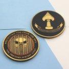 Challenge Coin Cia Veritatem Cognoscere Punisher Central Intelligence Agency