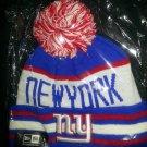 BNWT New York Giants Pom Pom Beanie