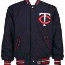 Minnesota Twins Baseball Wool / Nylon Reversible Jacket Adult JH Design