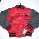 BRAND NEW NBA YOUTH CHICAGO BULLS EMBROIDERED SATIN VARSITY JACKET XL