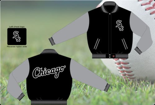 BNWT Mens Chicago White Sox Reversible Jacket Sz. 4x