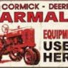 Farmall Ice Box Magnet #M1278