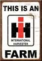 International Harvester Tractor Ice Box Magnet #M1279