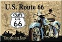 Route 66 Ice Box Magnet #M678