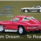 Corvette Stingray Ice Box Magnet #M694