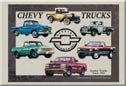 Chevrolet Truck Ice Box Magnet #M841