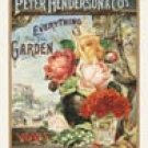 Rose Garden Tin Sign #740