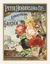 Rose Garden Tin Sign #740