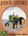John Deere Tractor Tin Sign #919