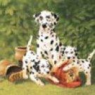 Dalmations Dog Firemen Tin Sign #935