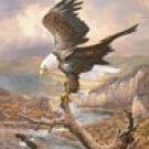 Bald Eagle Tin Sign #1029