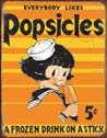 Popsicle Tin Sign #1306