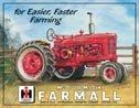 International Harvester Farmall Tractor Tin Sign #825