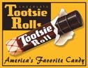 Tootsie Roll Candy Tin Sign #858