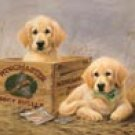Puppy Duck Hunting Dogs Tin Sign #1201