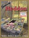 Heddon Fishing Lures Tackle Box Tin Sign #1212