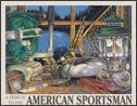 Camping Fishing Tackle Tin Sign #1213