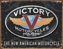 Victory Motorcycle Tin Sign #1316