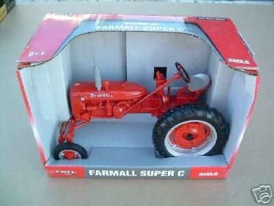 Internation Harvester Farmall Super C Diecast Tractor #14492
