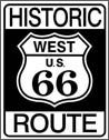Route 66 tin sign #1036