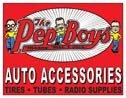 Pep Boys tin sign #1113