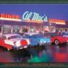 Al Mac Diner tin sign #1129