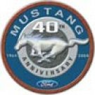 Ford Mustang tin sign #1206