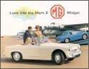 MG Midget Mark 2 tin sign #1217
