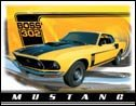 Ford Mustang tin sign #1241