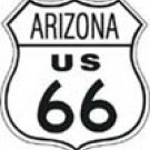 Route 66 tin sign #169