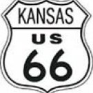 Route 66 tin sign #282