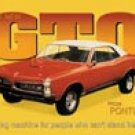 Pontiac GTO tin sign #495