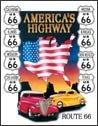 Route 66 tin sign #605