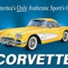 Corvette Tin Sign #720