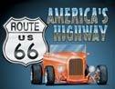 Route 66 tin sign #729