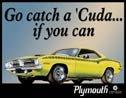 Plymouth Barracuda tin sign #846