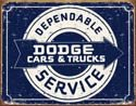 Dodge Service tin sign #1320