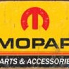 Mopar tin sign #1315